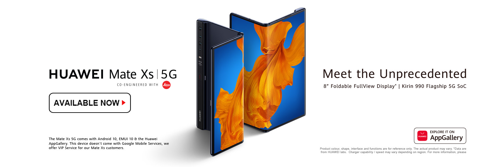 Huawei Mate Xs - Available Now