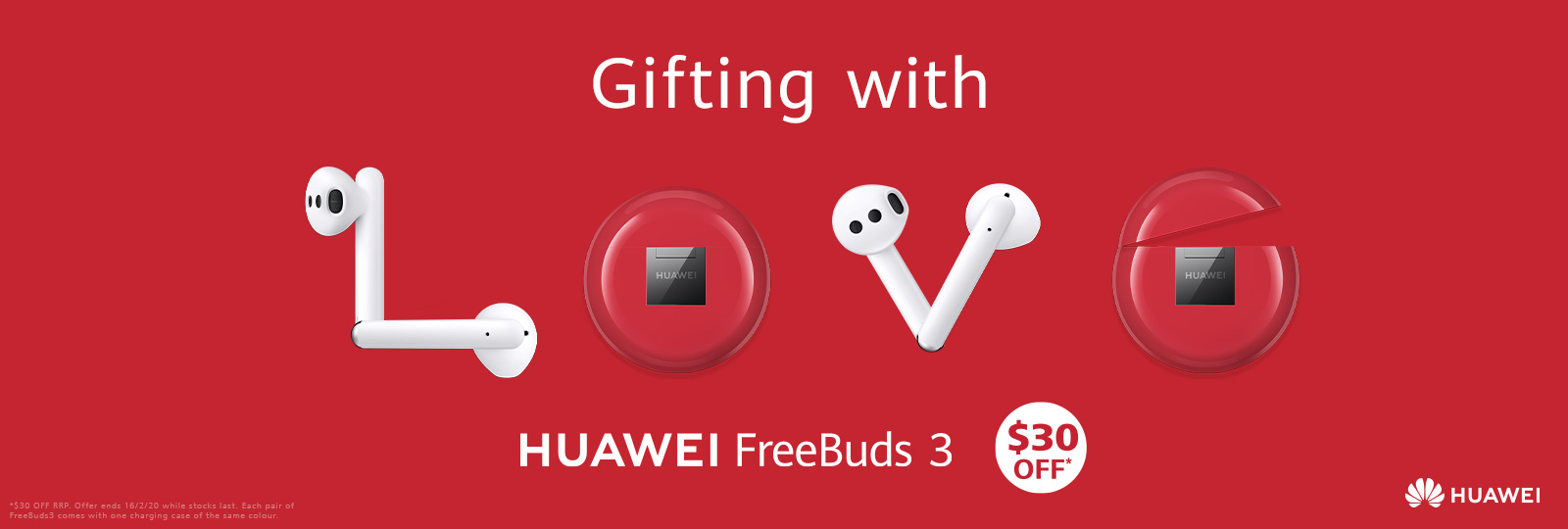 Huawei Freebuds 3 - Available Now