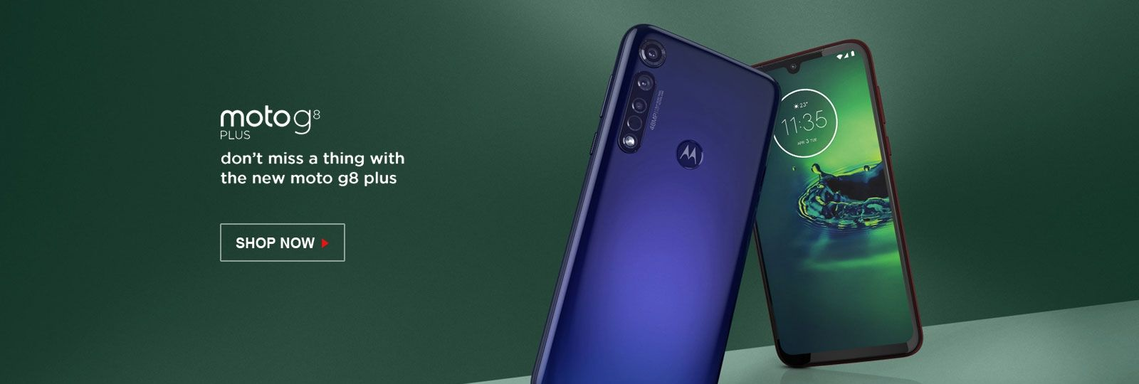 Motorola G8 Plus - Shop Now