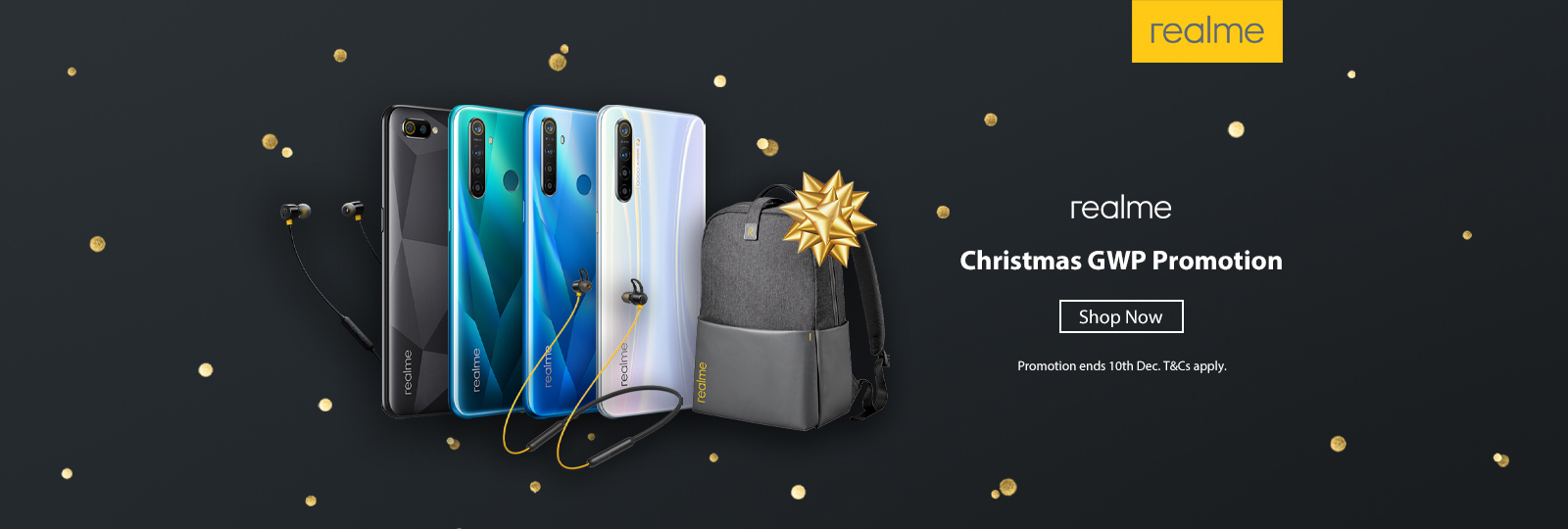 realme Christmas GWP Promotion