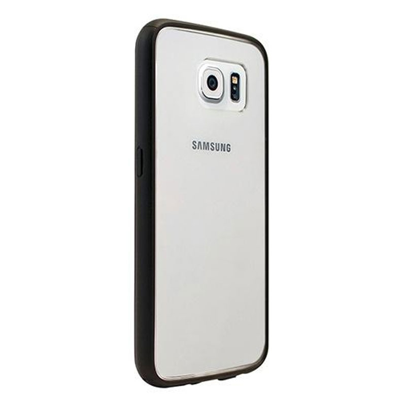 Image of 3SIXT PureFlex Case for Samsung Galaxy S6 - Black/Clear - 9318018112785