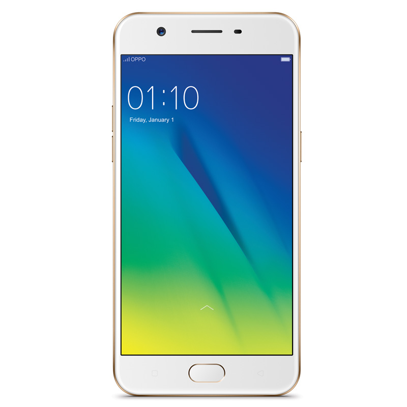 "OPPO A57 + Bonus 32GB MicroSD (4G/LTE, 32GB/3GB, 5.2"") - Gold - Unlocked, 100% Australian Stock"