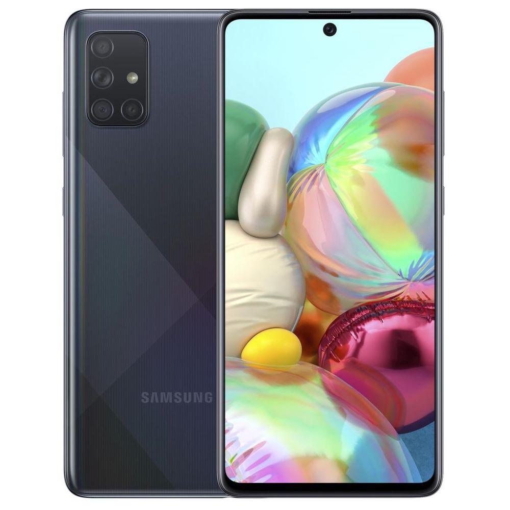 """Samsung Galaxy A71 (Dual Sim 4G/4G, 6.7"""", 64MP) - Black"""