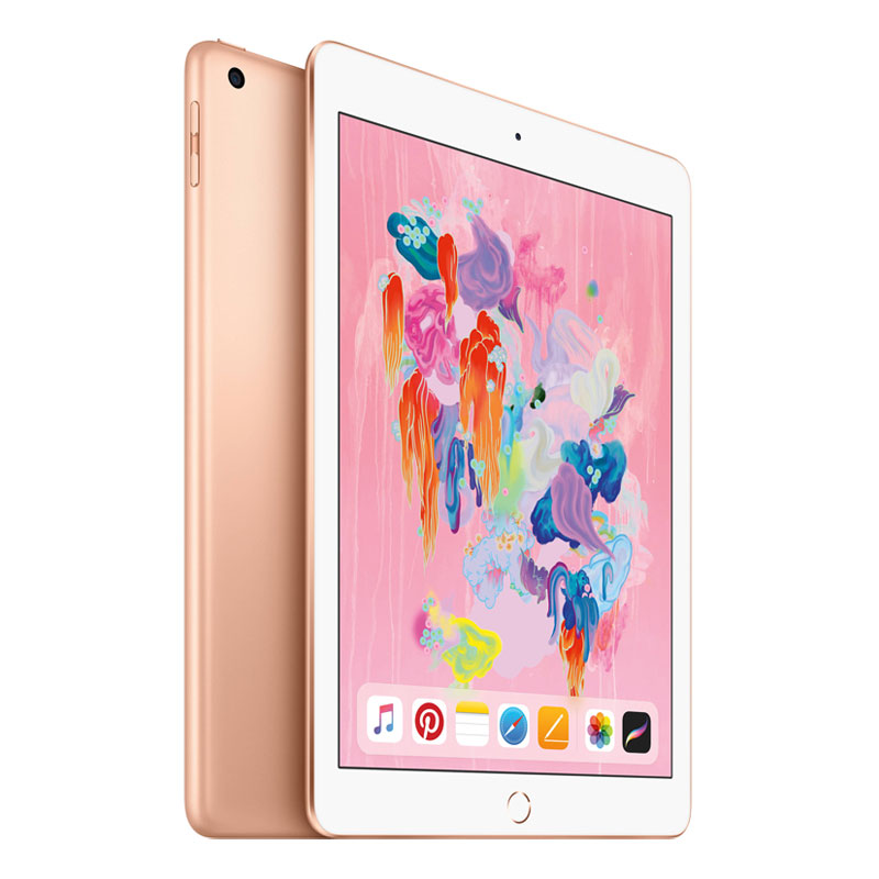 "[Open Box - As New] Apple iPad 9.7"" WiFi + Cellular 32GB 6th Gen A1954 - Gold"