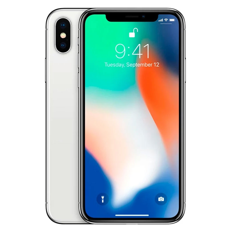 Apple iPhone X 64GB - Silver - Unlocked, 100% Australian Stock