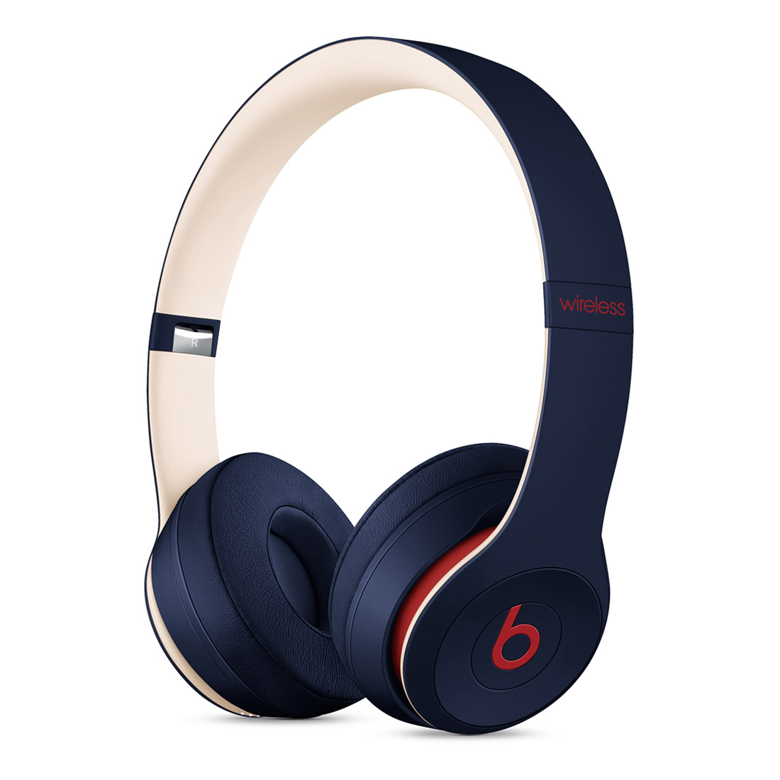 Beats Solo3 Wireless On-Ear Headphones Club Collection - Navy