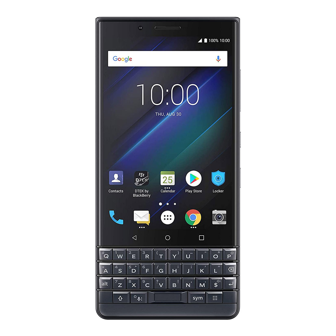 BlackBerry KEY2 LE (Dual SIM 4G, Keyboard, 32GB/4GB) - Slate