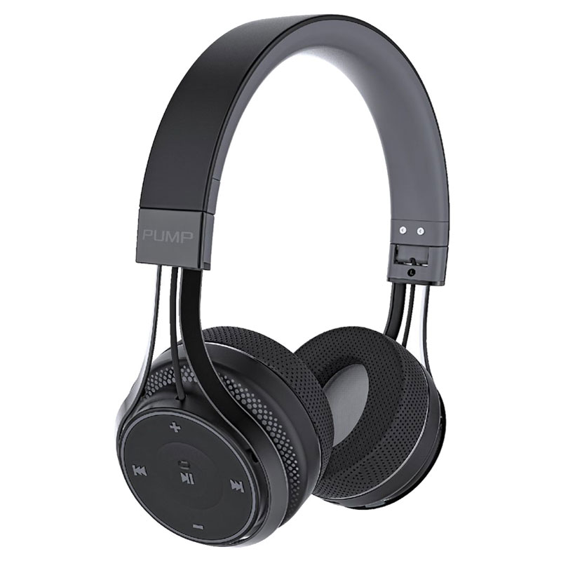 Blueant Pump Soul Bluetooth Wireless on Ear Stereo Headset - Black