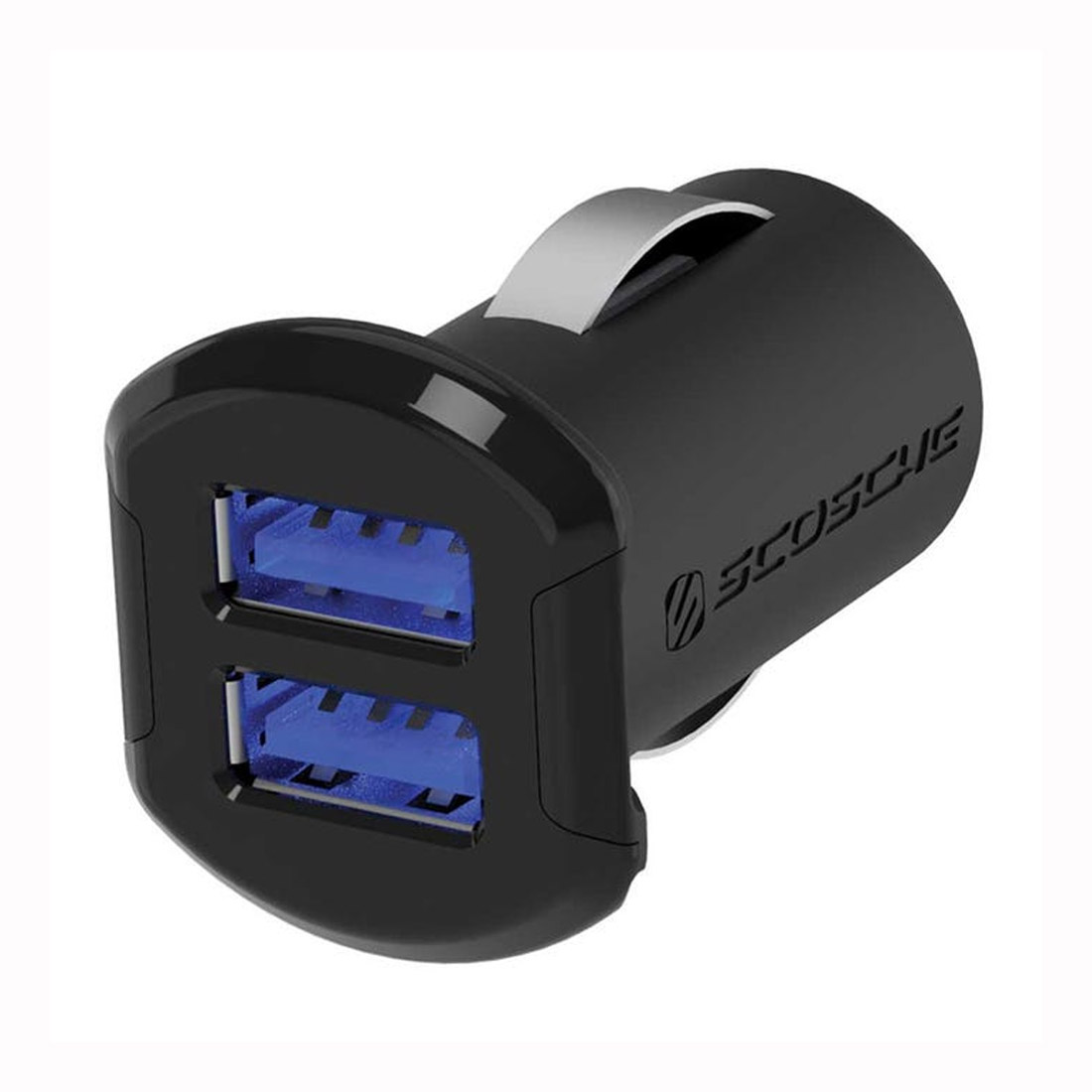 Scosche Dual 2 Ports 12W USB Car Charger