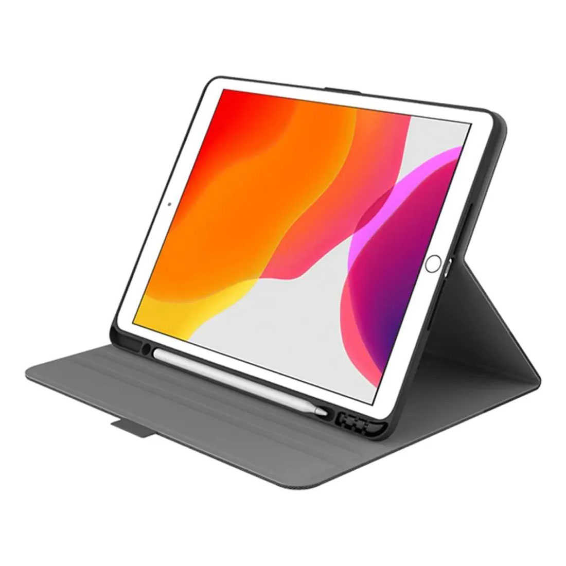 "Cygnett Tekview Slimline Case w/ Apple Pencil Holder for iPad 10.2"" - Black"