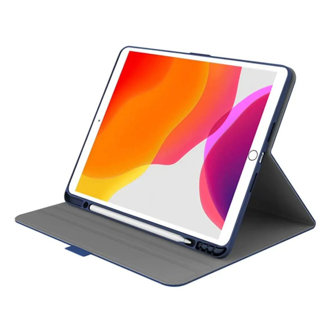 "Cygnett Tekview Slimline Case w/ Apple Pencil Holder for iPad 10.2"" - Navy"