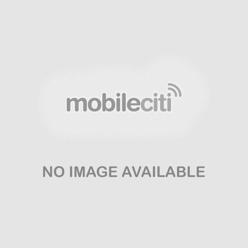 Fitbit Alta Fitness Tracker Blue Silver Frontside