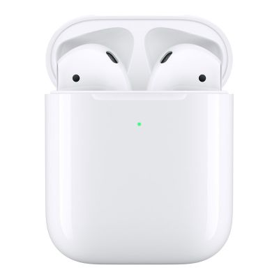 Apple AirPods (2nd Gen) with Wireless Charging Case A2032 - White 190198764805