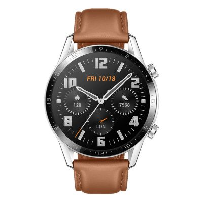 Huawei Watch GT 2 Classic 46mm Smartwatch - Pebble Brown 6901443320080
