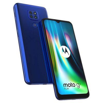 Motorola Moto G9 Play (6.5'', Dual SIM 4G, 5000mAh 64GB/4GB) - Sapphire Blue-main