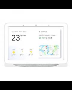 Google Home Hub - Chalk - Front