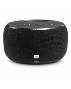 JBL Link 300 Voice Activated Wireless Speaker - Black front