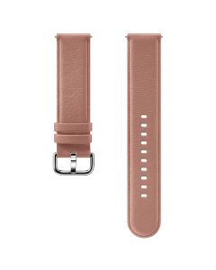 Samsung Galaxy Watch Active Leather Band 20mm ET-SLR82MPEGWW - Pink-main
