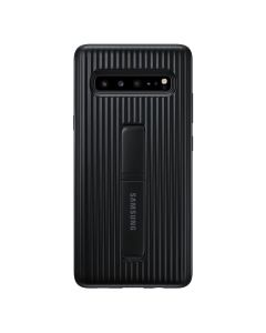 Samsung Galaxy S10 5G Protective Standing Cover Black front