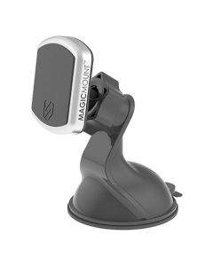 Scosche MagicMount Pro Window/Dash Magnetic Mount for Mobile Devices - Black -main