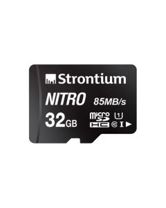 Strontium Nitro 32GB Micro SDHC Card 85MB/s UHS-I U1 Class 10 High Speed SRN32GTTFU1QR-main