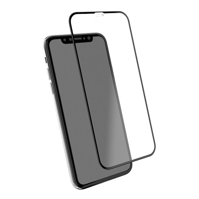 EFM TT Sapphire+ Screen Armour for iPhone XR - Black Frame