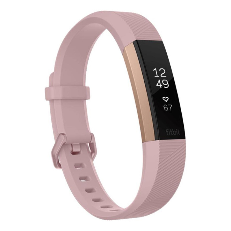 Fitbit Alta HR Activity Tracker Large - Rose Gold