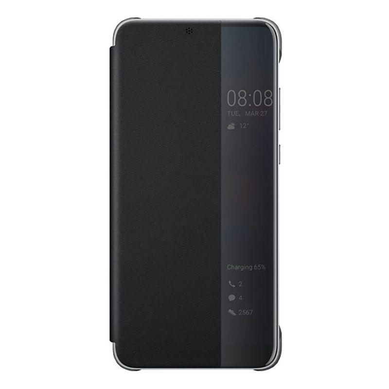 Huawei P20 Pro Smart View Flip Cover - Black