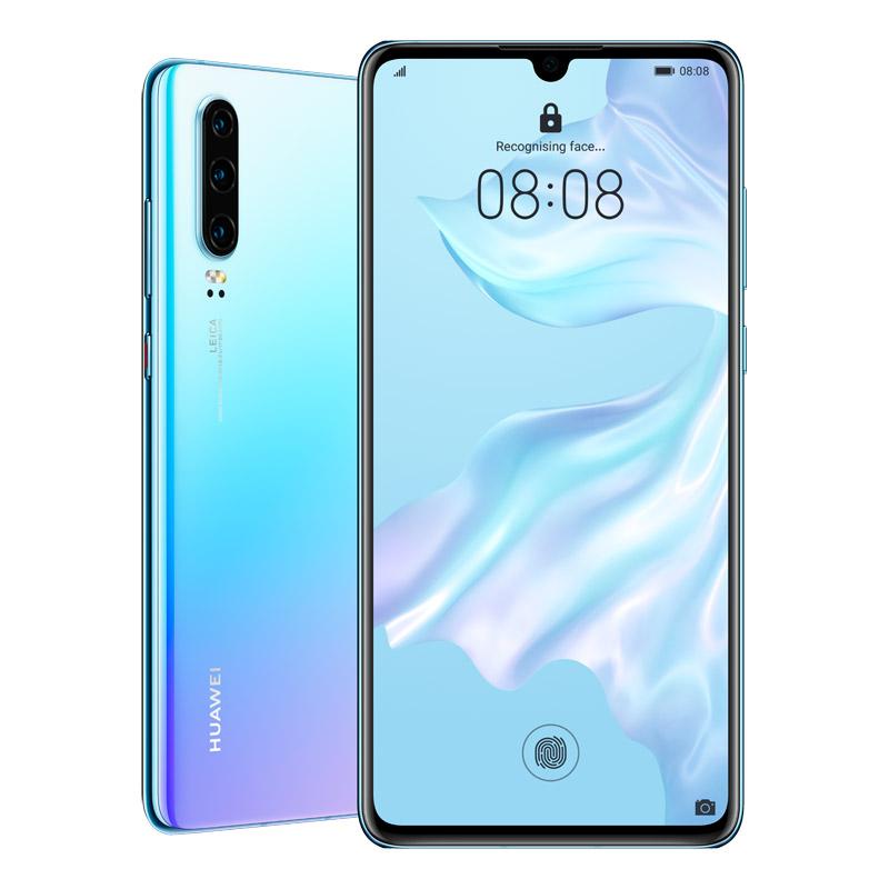 "Huawei P30 (Dual SIM 4G/4G, 6.1"", 128GB/6GB) - Breathing Crystal"