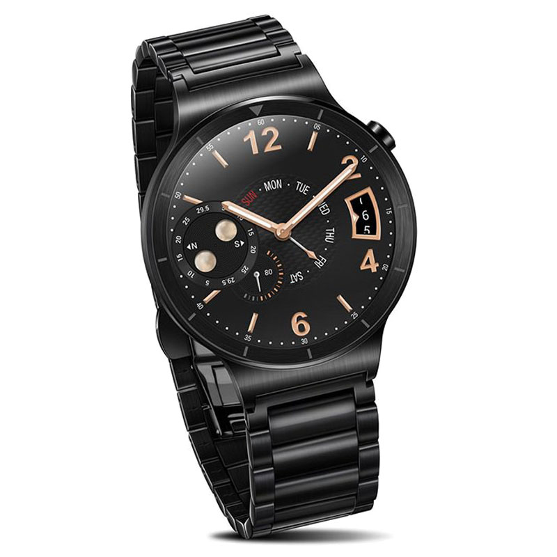 Huawei W1 Watch Stainless Steel Link - Black - , 100% Australian Stock