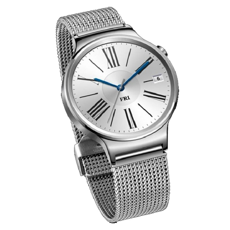 Huawei W1 Watch Stainless Steel Mesh - Silver - , 100% Australian Stock