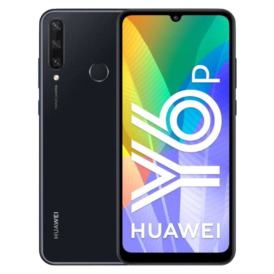 "Huawei Y6P (HMS, Dual Sim 4G, 6.3"", 64GB/3GB) - Midnight Black"