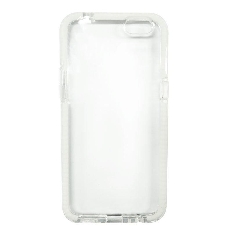 ilike Protective Shell Cover for OPPO R9s - Clear/White - , 100% Australian Stock