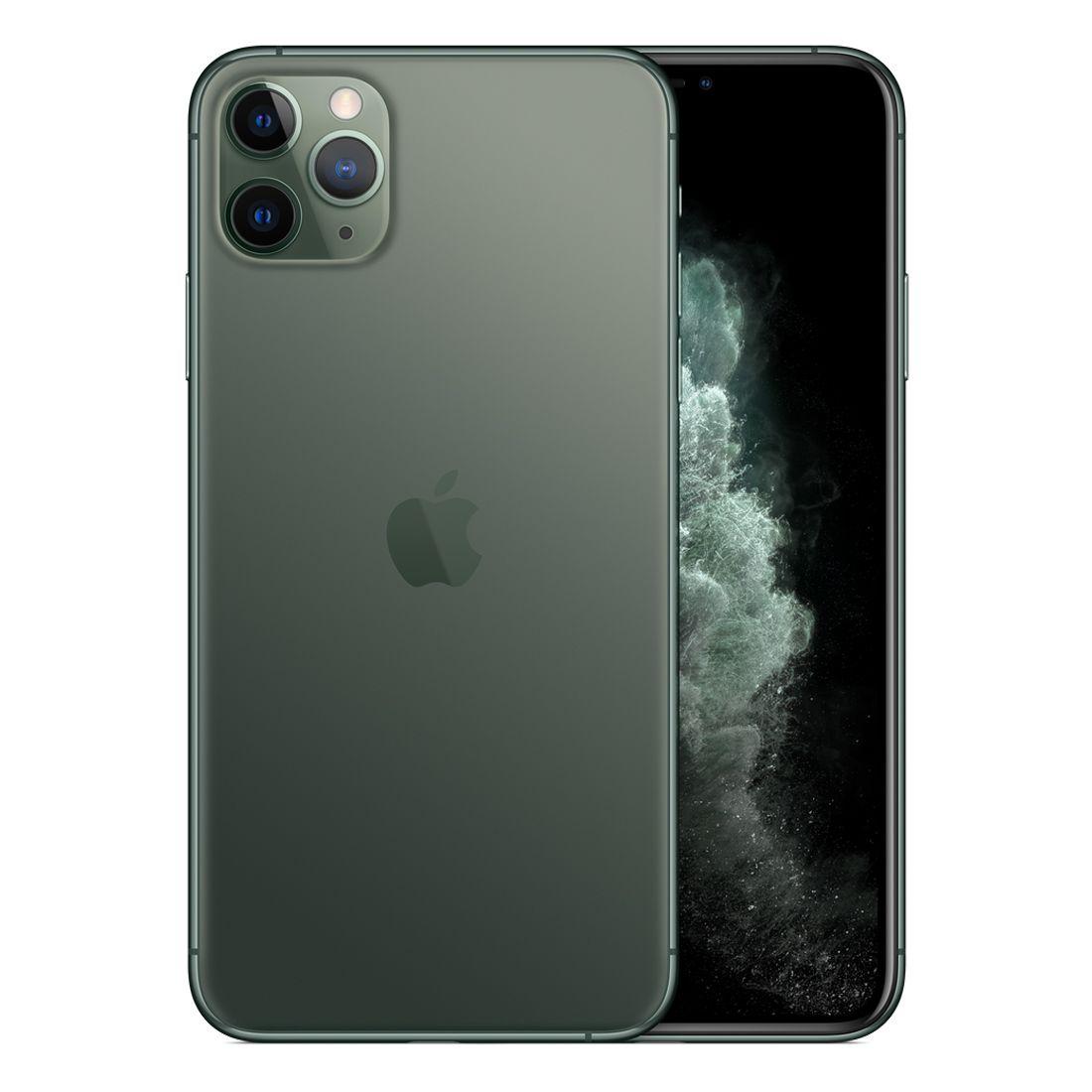 [Open Box - As New] Apple iPhone 11 Pro Max 64GB - Midnight Green
