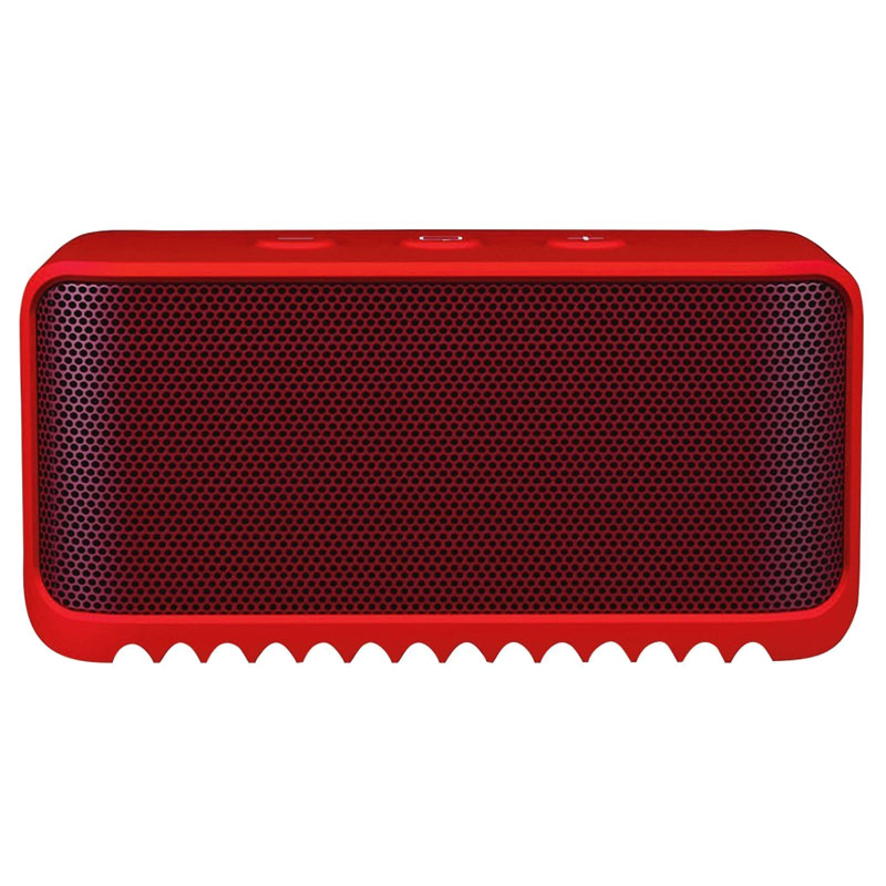 Jabra Solemate Mini (NFC, Bluetooth) Portable Speaker - Red - , 100% Australian Stock