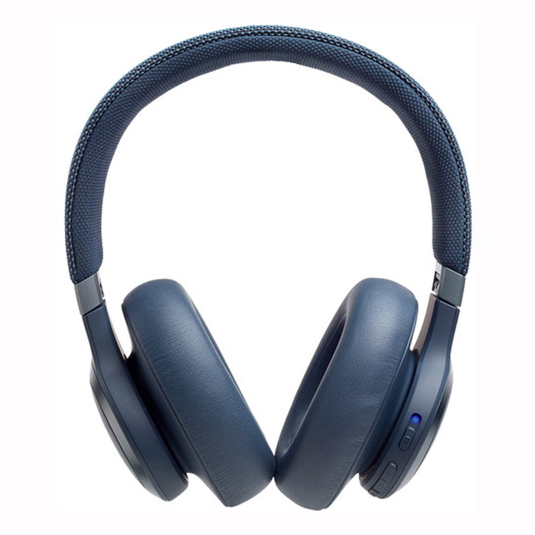 JBL Live 650BTNC Wireless Over-Ear Noise-Cancelling Headphones - Blue