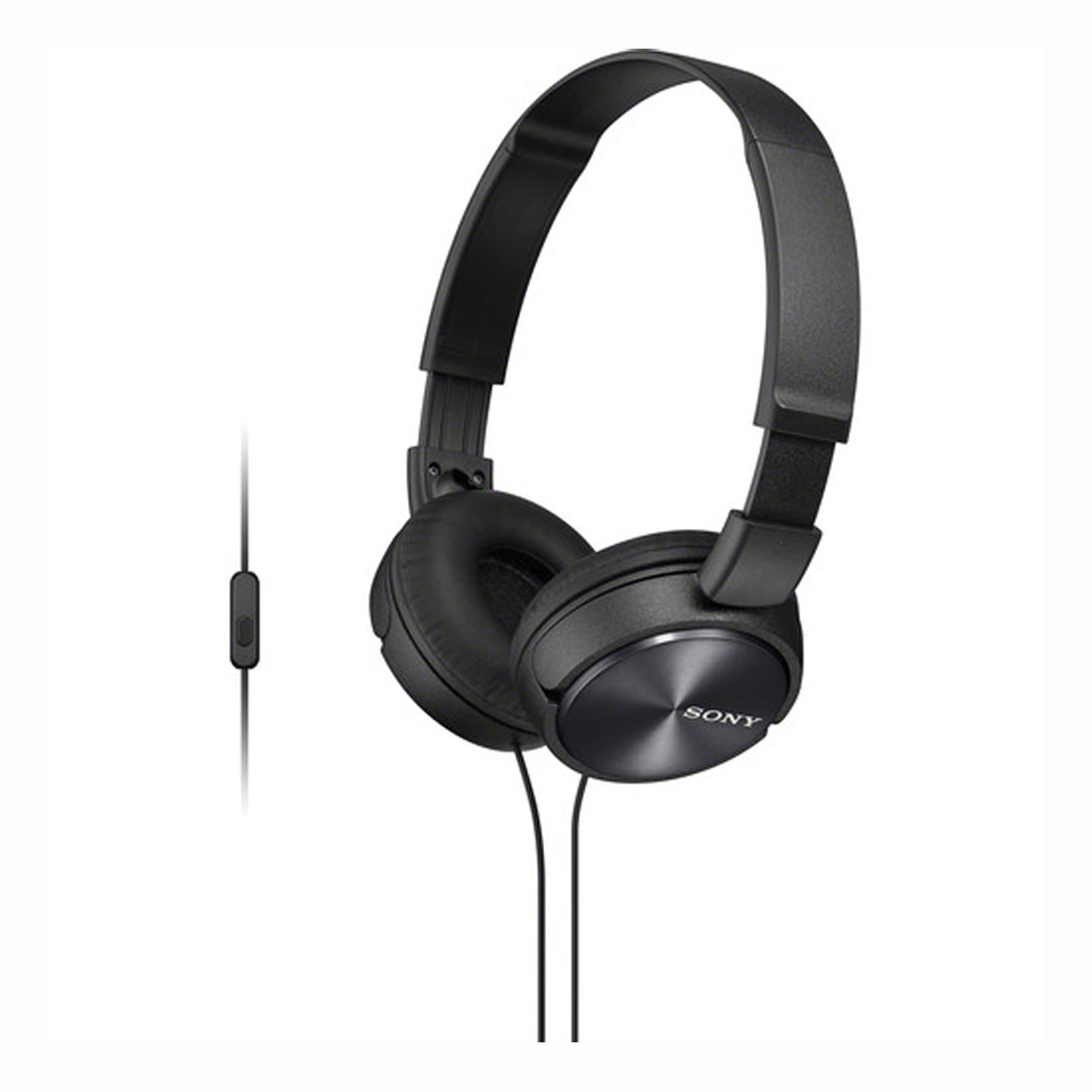 Sony MDR-ZX310AP Stereo Over-Ear Headphones - Black