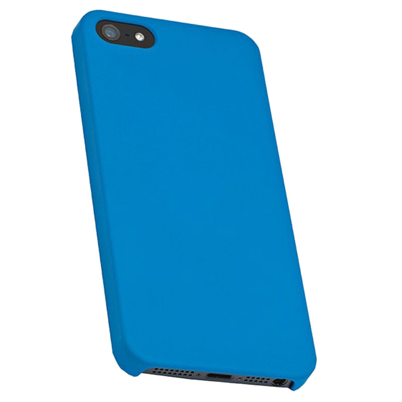 Milkshake Hard Case For iPhone 5 /5S /SE Blue with Screen Protector