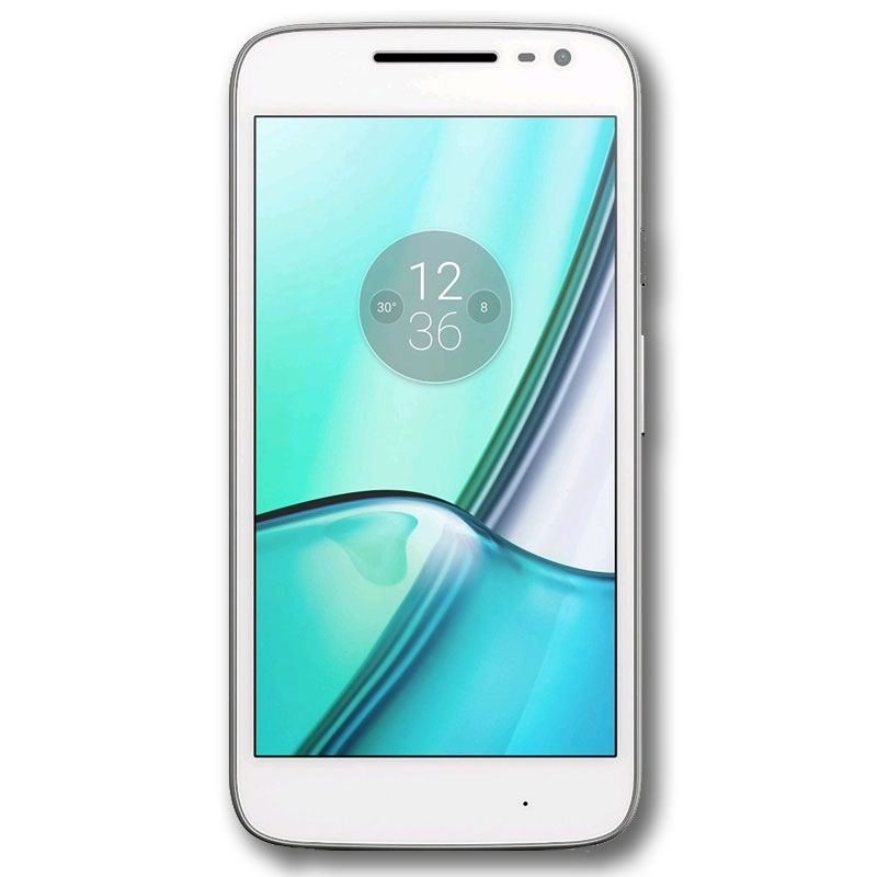 "Motorola Moto G4 Play XT1602 (4G/LTE, 16GB, 5"") - White"