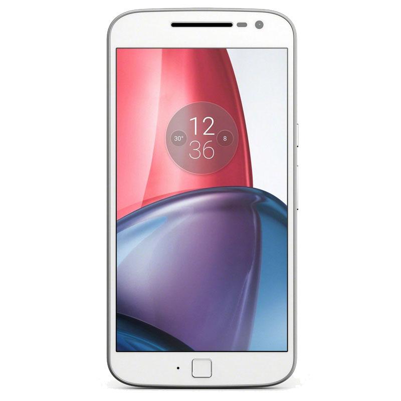 Motorola Moto G4 Plus XT1642 (Dual Sim, 4G/LTE, 16GB/2GB) - White