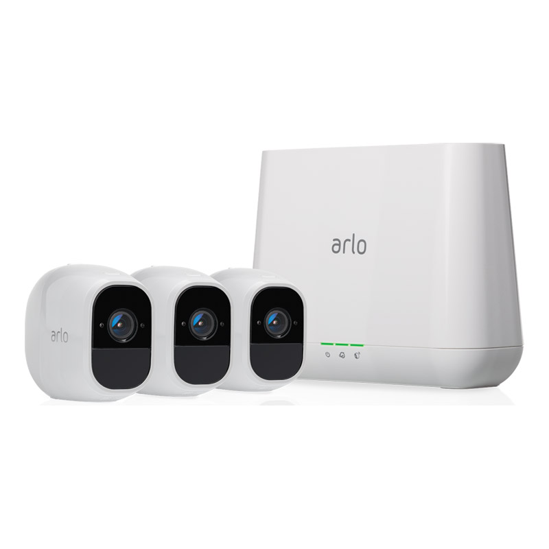 Arlo Pro 2 Wire-Free HD Security System VMS4330P - 3 Cameras
