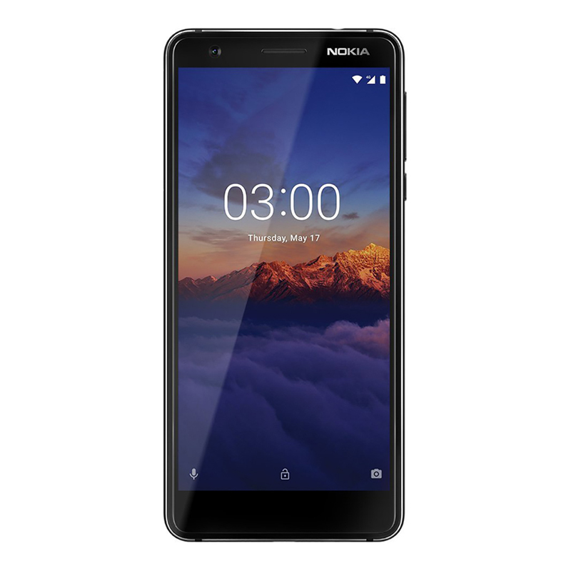 "Nokia 3.1 2018 (5.2"", 13MP, Android One) - Black/Chrome"