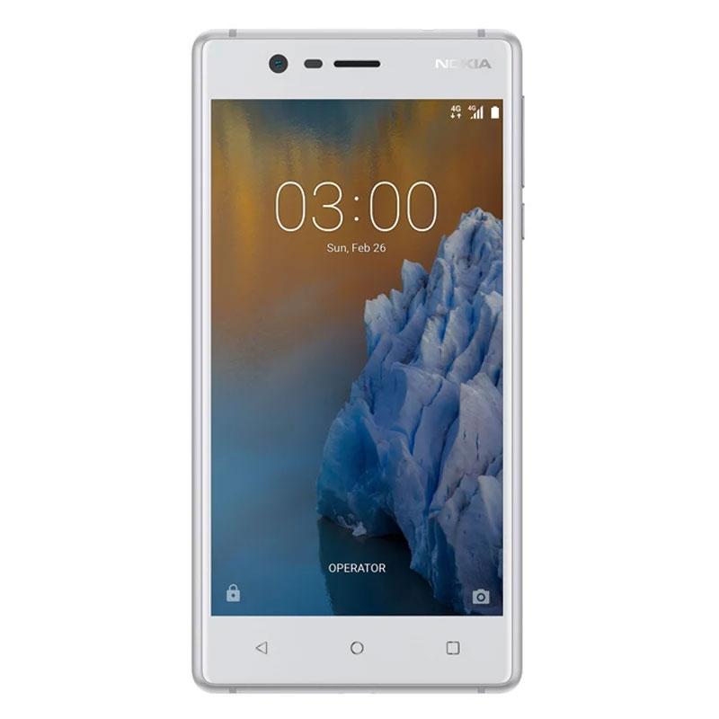 """Nokia 3 (4G/LTE, 5.0"""", 16GB) - Silver White"""