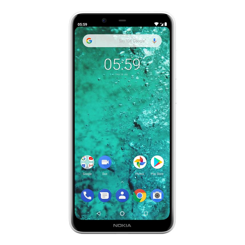 "Nokia 5.1 Plus (5.86"", 32GB/3GB, Android One) - White"