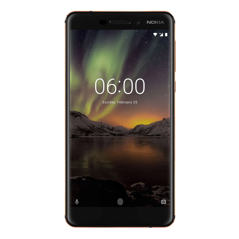 "Nokia 6.1 (5.5"", 32GB/3GB, Android One) - Black Copper"