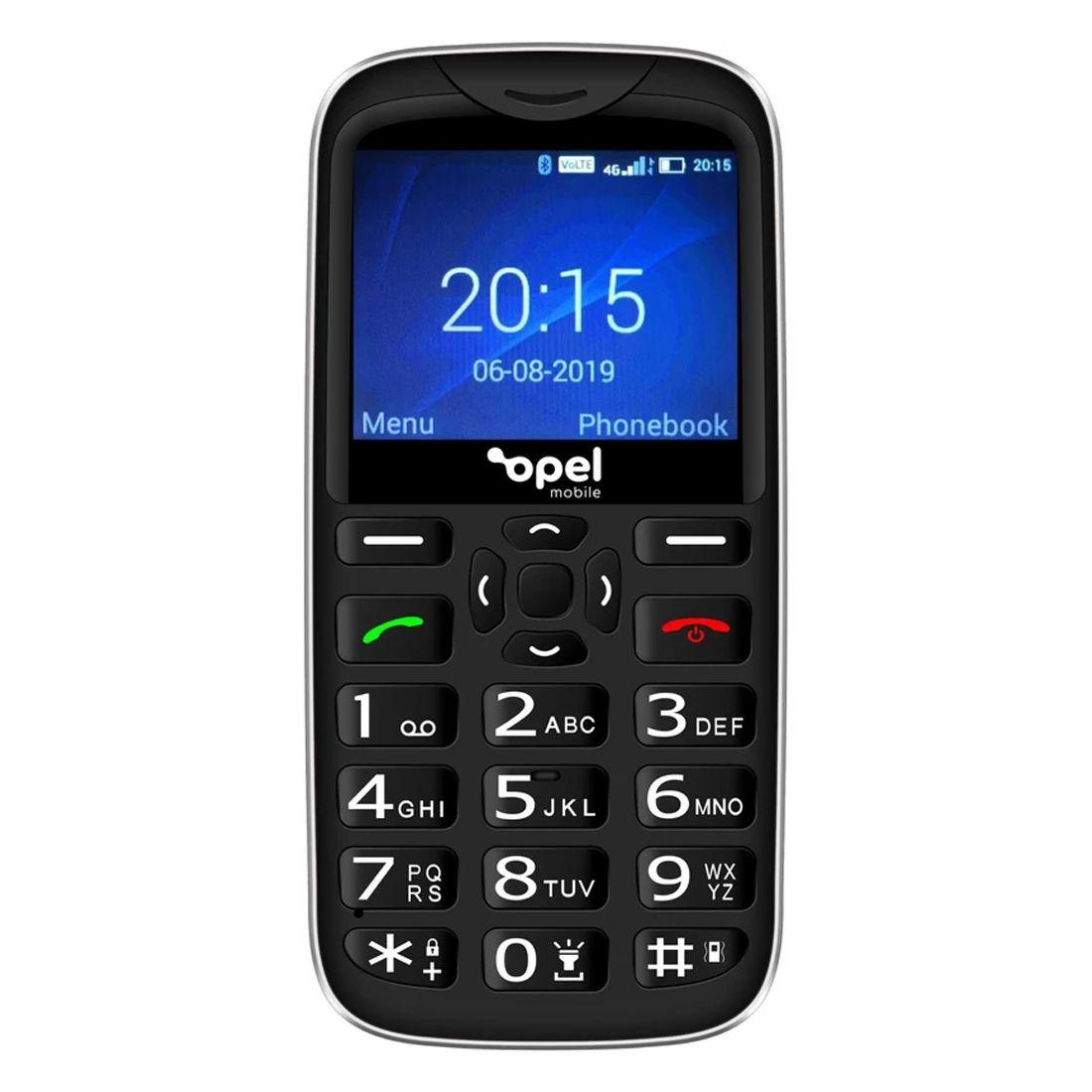 Opel Mobile BigButton X (4G/LTE, Keypad) - Black