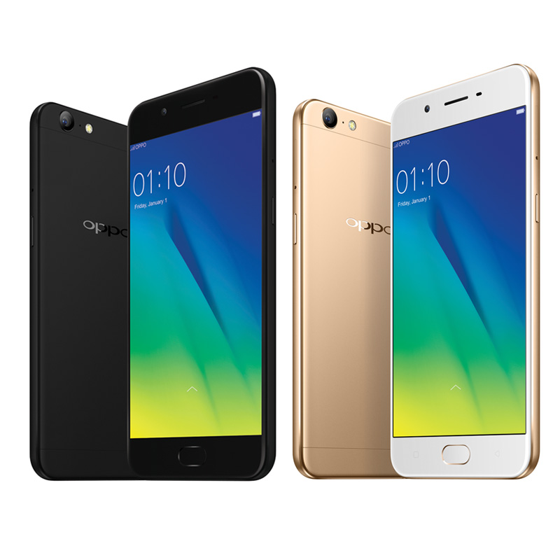 Oppo A57 Black and Gold