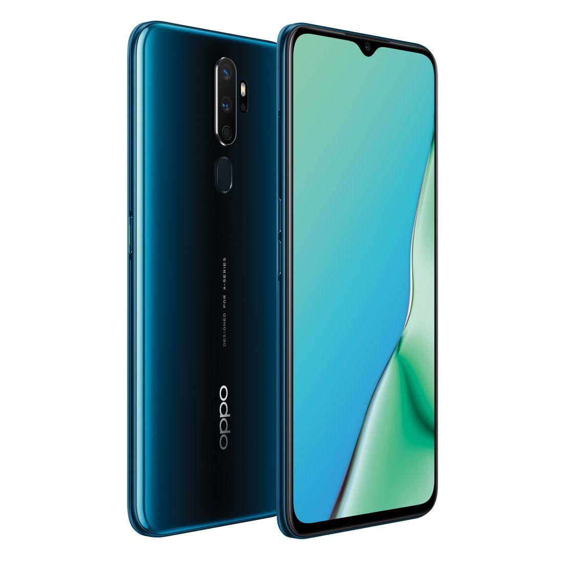 Oppo A9 2020 (Dual Sim 4G/4G, 128GB/4GB, ETA 28/05) - Marine Green