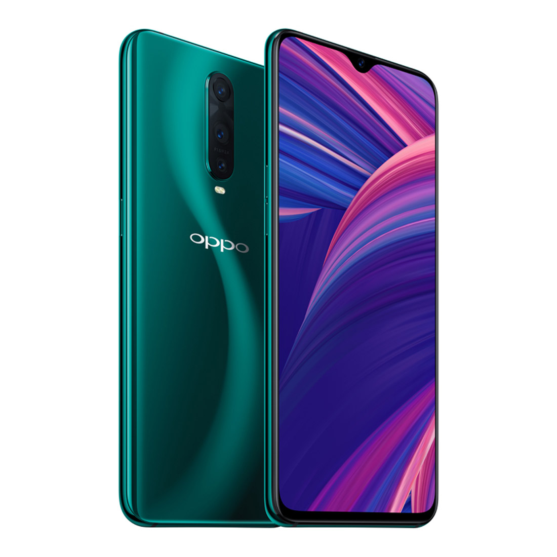 [CPO - As New] OPPO R17 Pro (Dual SIM 4G/3G, 128GB/6GB) - Emerald Green