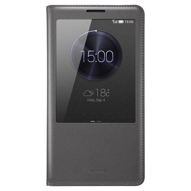 Original Huawei Mate 7 Flip Smart View Cover Case - Black - , 100% Australian Stock